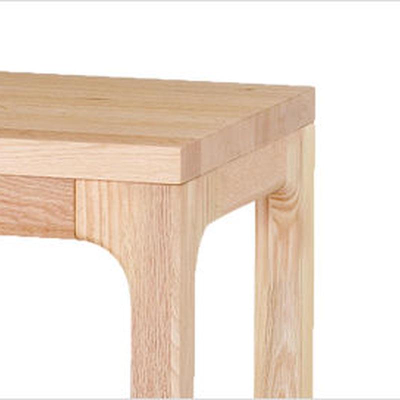【WOODONE】無垢のテーブル colナラ M