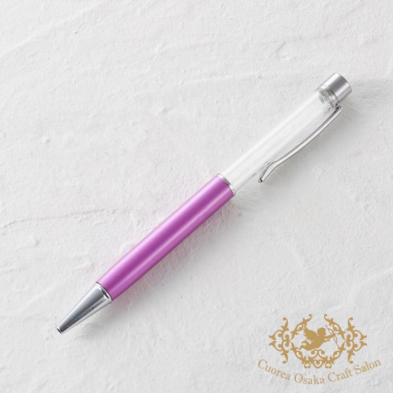7:ハーバリウムボールペン単体 ライトパープル×S