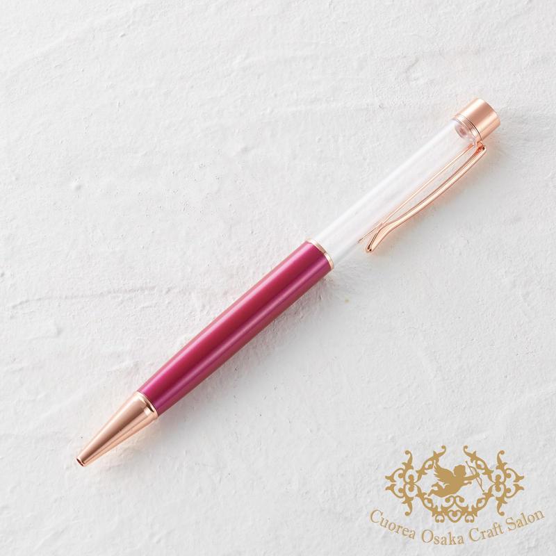 18:ハーバリウムボールペン単体 ルージュ×PG