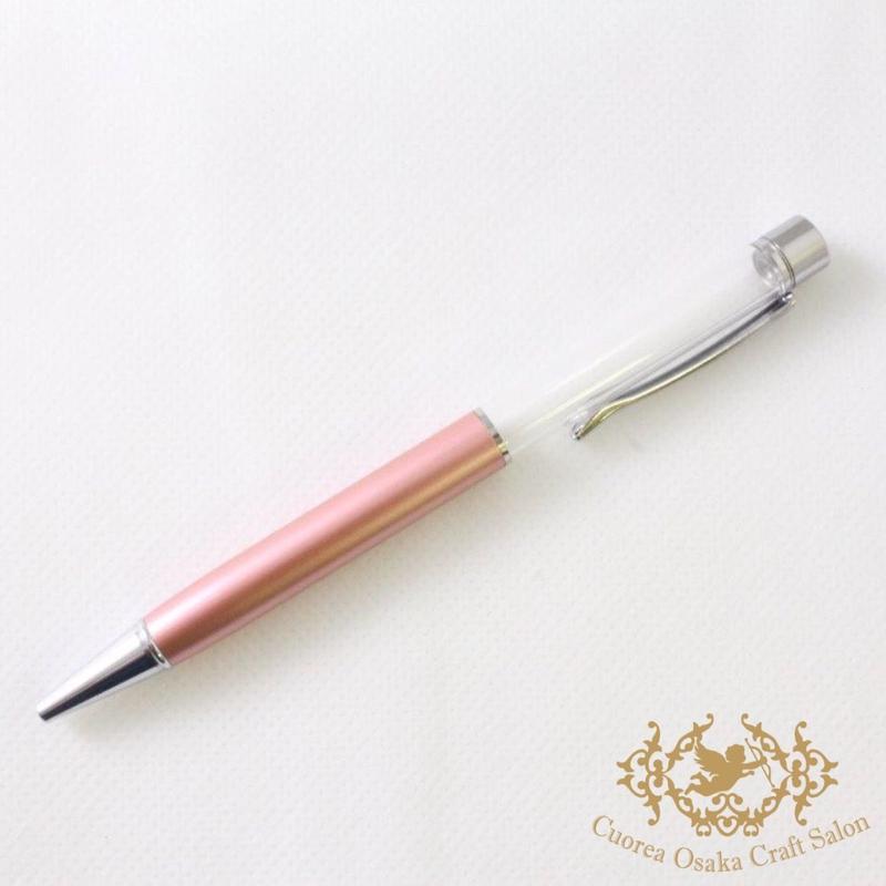 2:ハーバリウムボールペン単体 ライトピンク×S