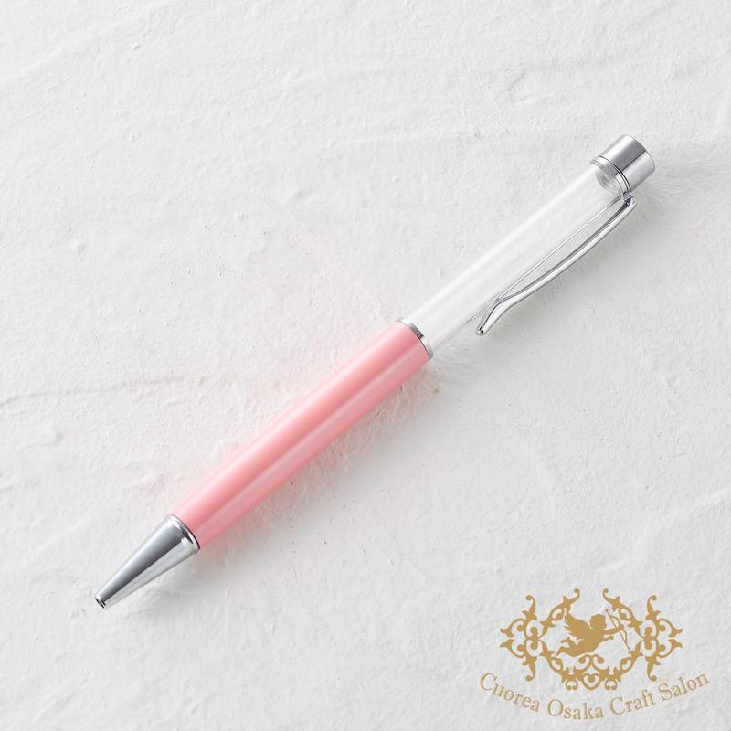3:ハーバリウムボールペン単体 ピンク×S