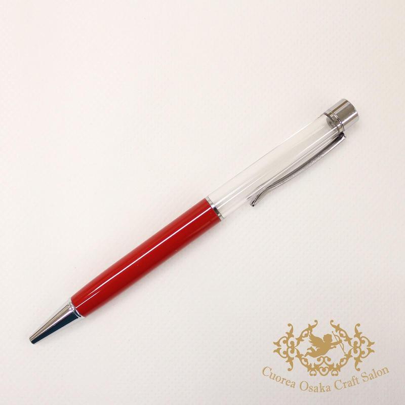 10:ハーバリウムボールペン単体 レッド×S
