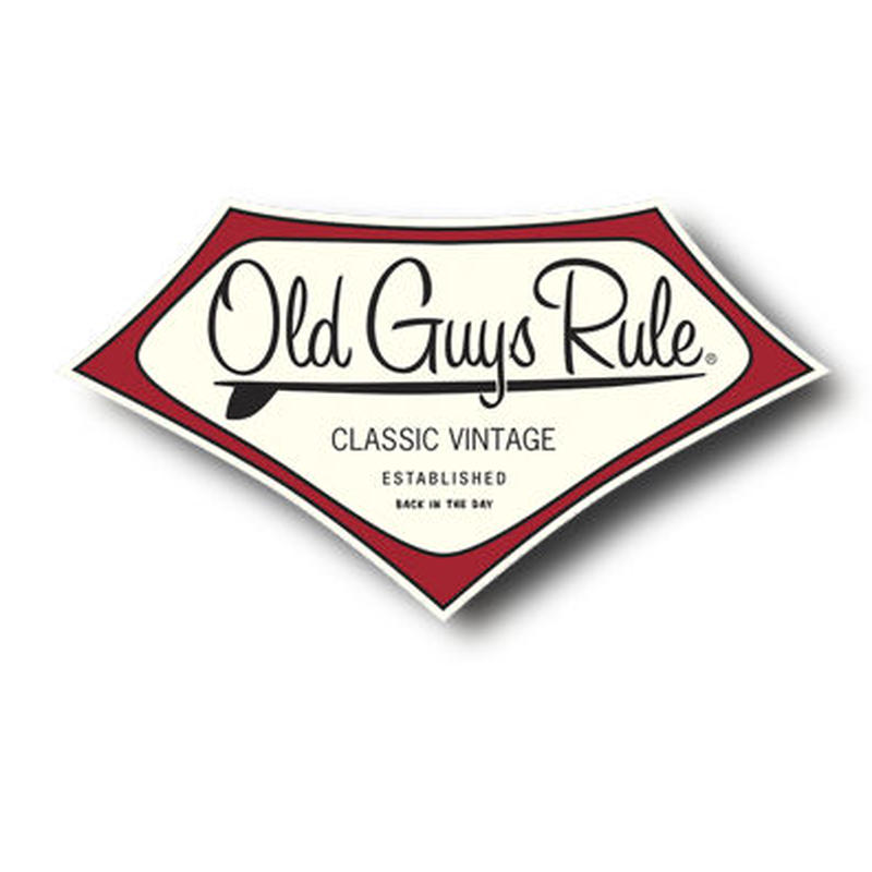 OG821 Classic Vintage Sticker