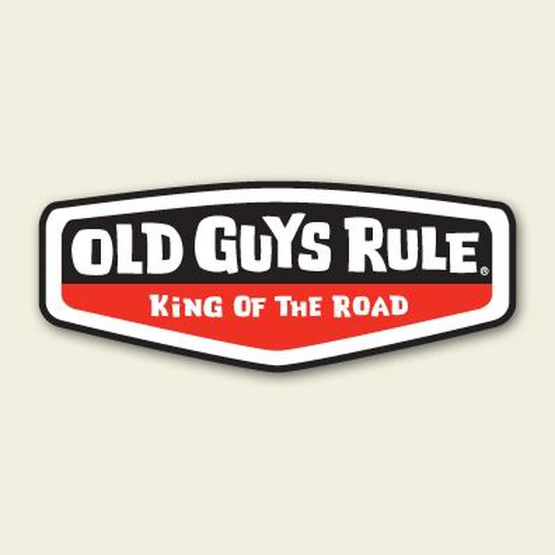 OG525R King of the Road Sticker (red)