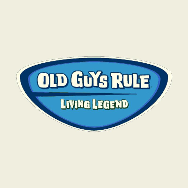 OG939 Legend Badge Sticker