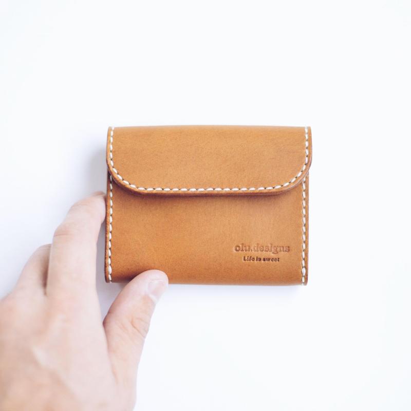 小財布(2)キャメル
