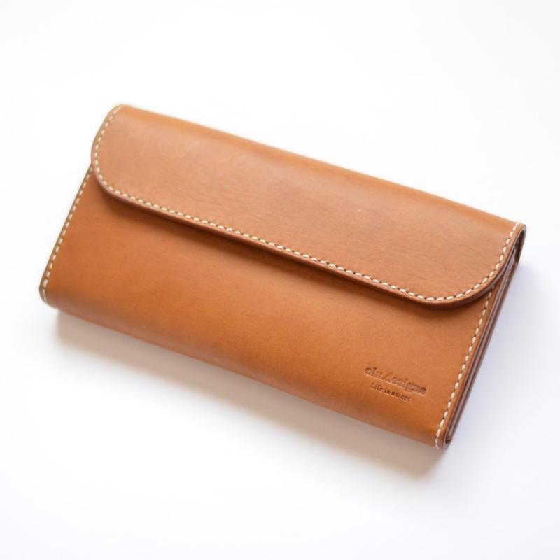 長財布(キャメル)