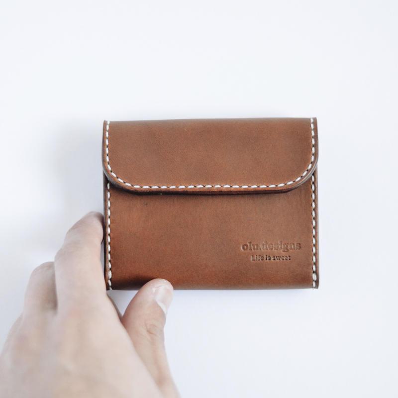 小財布(2)ブラウン