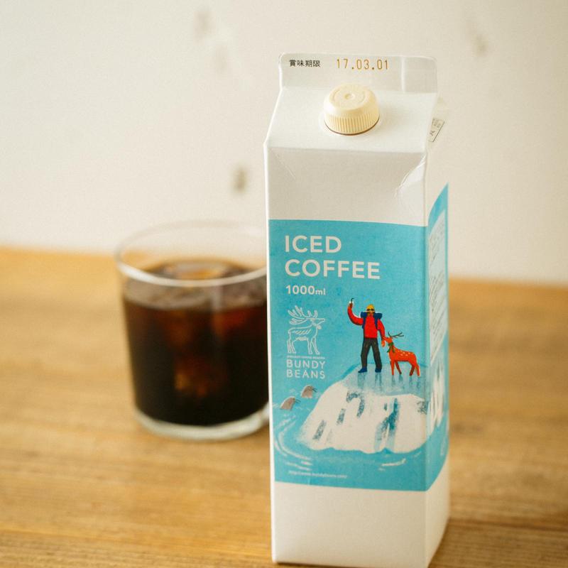 【夏季限定】2019プレミアムアイスコーヒー 1ℓ 12本 ケース売り