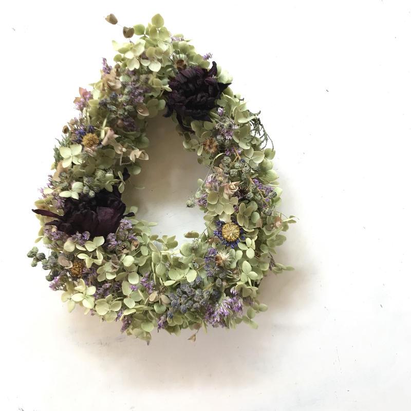 wreath drop