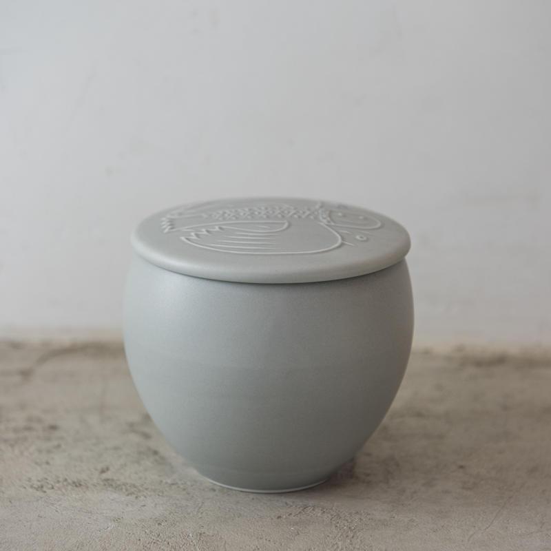ふたもん salt pot