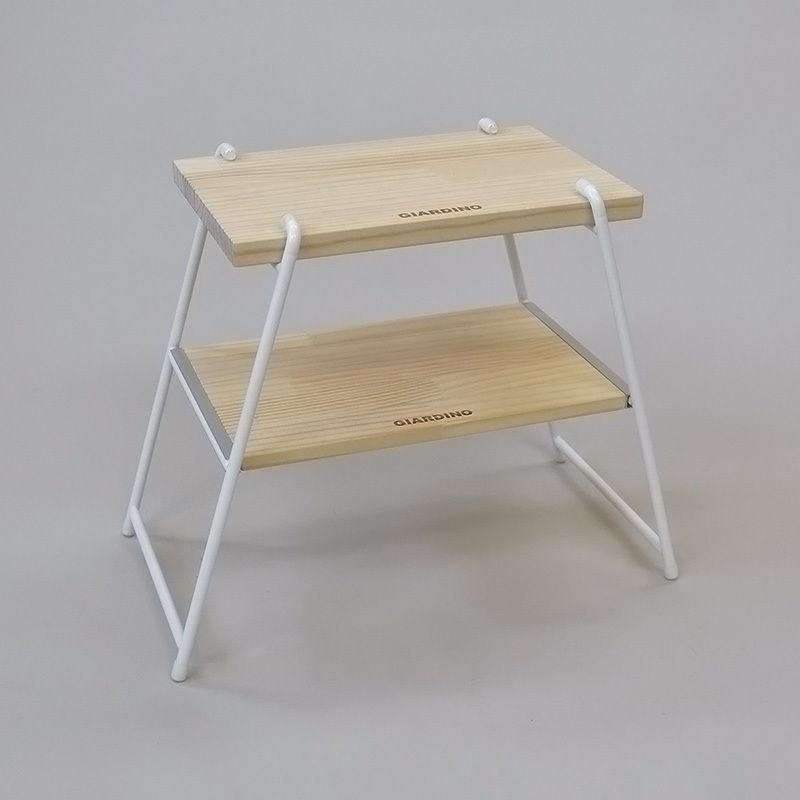 【WEB限定】サイドテーブル&チェア Mサイズバッグ付:WH