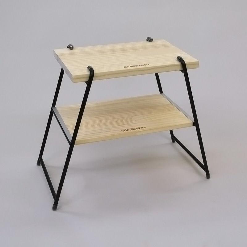 【WEB限定】サイドテーブル&チェア Mサイズバッグ付:BK