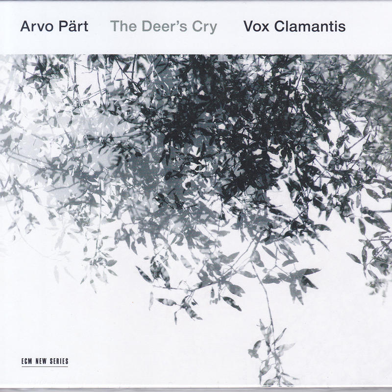 Arvo Part - Vox Clamantis / The Deer's Cry / CD