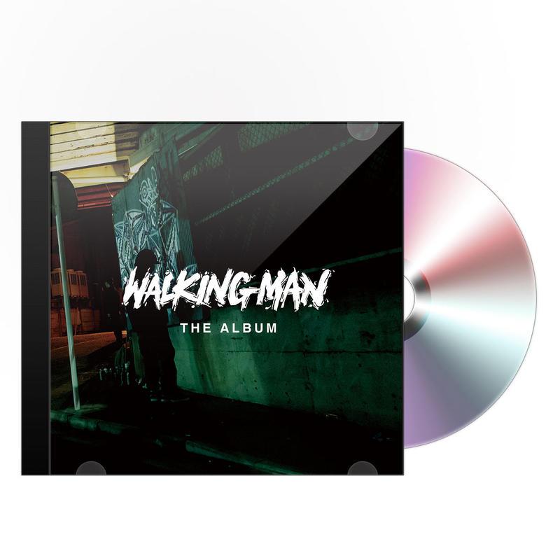 <予約>[初回生産限定盤]V.A. - WALKING MAN THE ALBUM (CD) ※歌詞ブックレット付き
