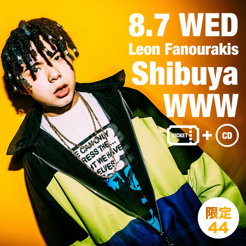 "<限定44・早割・チケット+CDセット>2019/8/7(WED) SICK IT UP! -Leon Fanourakis ""CHIMAIRA"" Release Live- @Shibuya WWW"