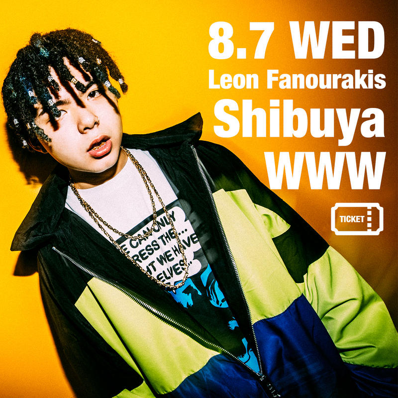 "<得・前売>2019/8/7(WED) SICK IT UP! -Leon Fanourakis ""CHIMAIRA"" Release Live- @Shibuya WWW"