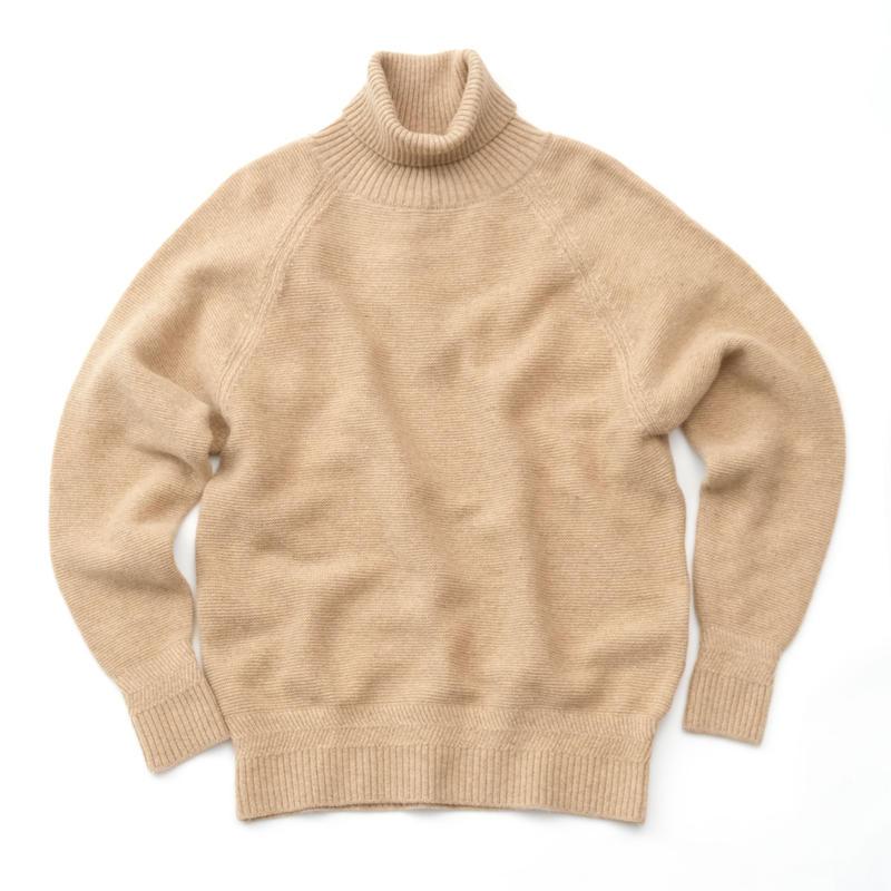 RICEMAN High Neck Knit(BEIGE)