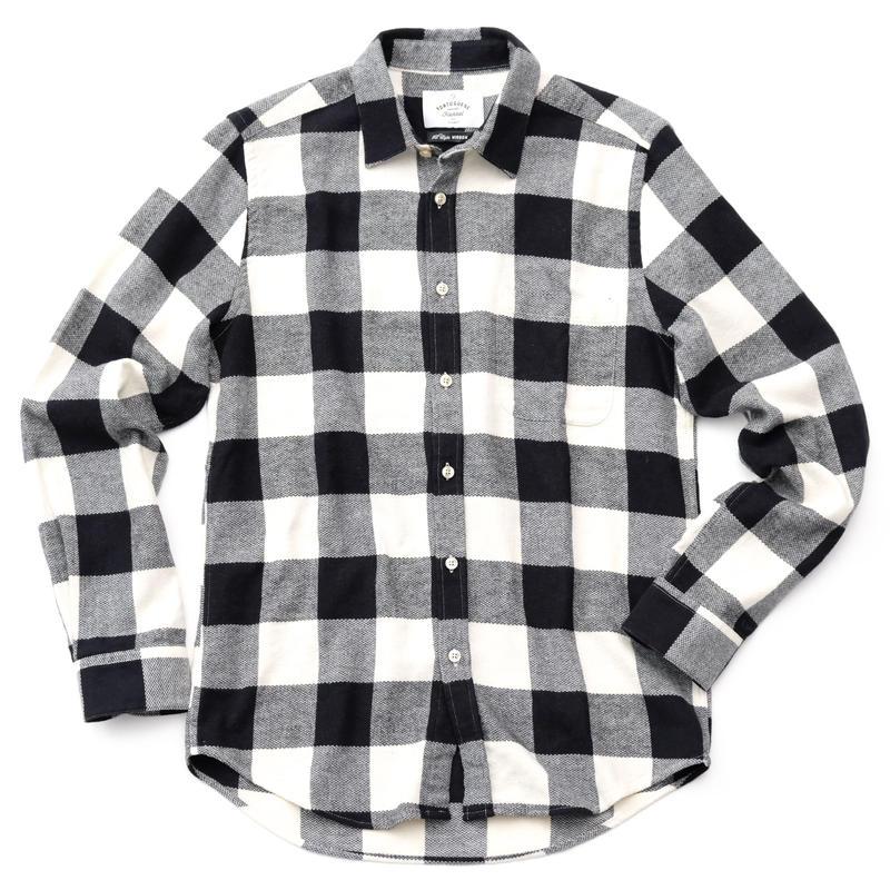 PORTUGUESE Flannel Flannel Shirt(BLACK CHECK)
