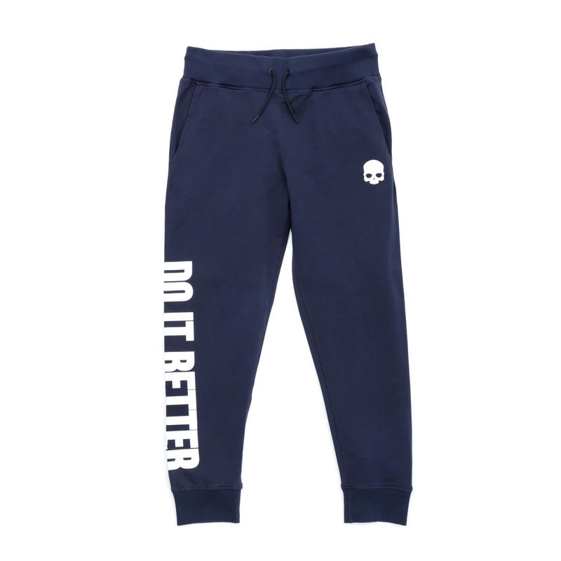 HYDROGEN DO IT BETTER SWEATPANTS(NAVY)