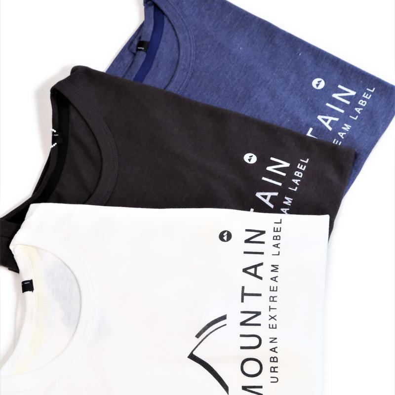 MofM(man of moods) オリジナルTシャツ MOUNTAIN(WHITE/BLACK/NAVY)