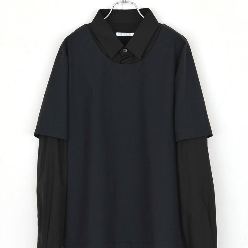 DISCOVERED ONE OVER SHIRT(BLACK)