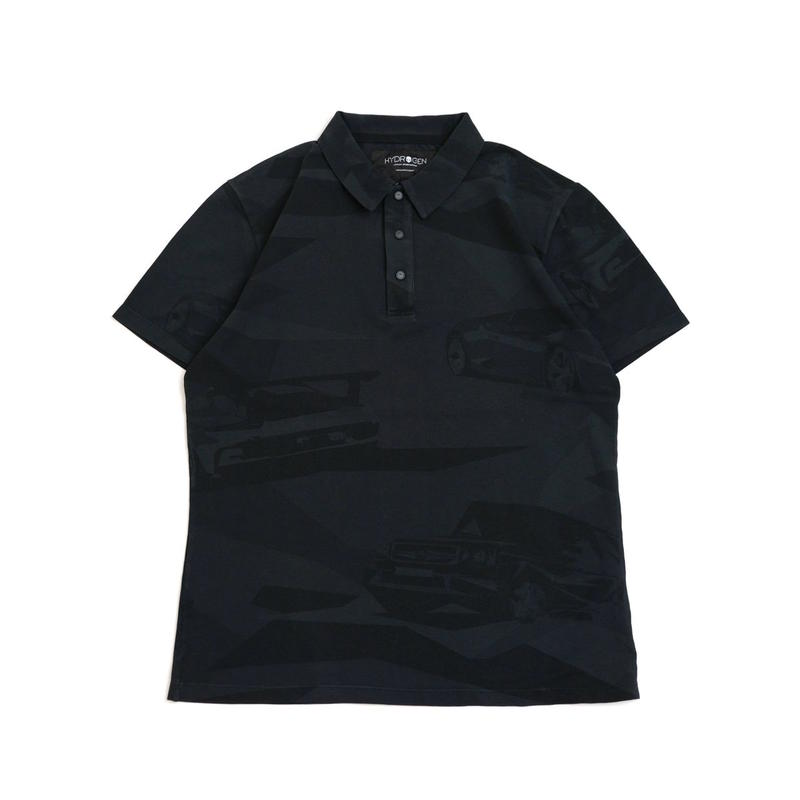 HYDROGEN CARS AND CAMO POLO SS(BLACK CAMOUFLAGE)