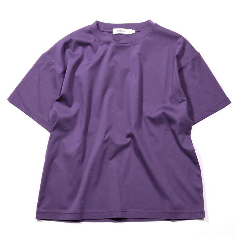 RICEMAN Plain Tee Shirt(PURPLE)