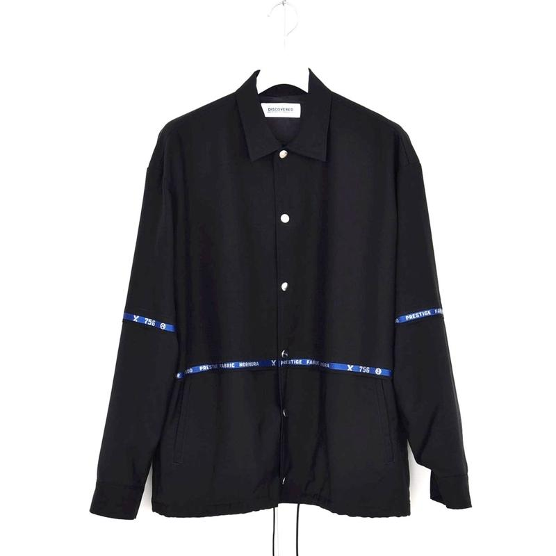 DISCOVERED NAME COACH BLOUSON(BLACK)