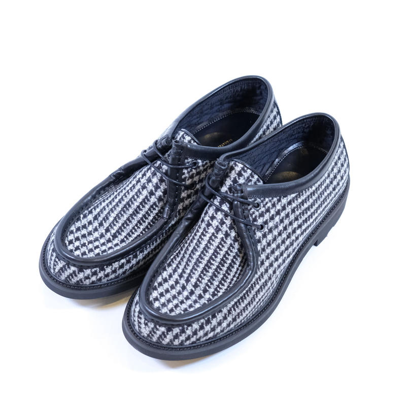 42ND ROYAL HIGHLAND チロリアンシューズ Houndstooth(BLACK COMBI)