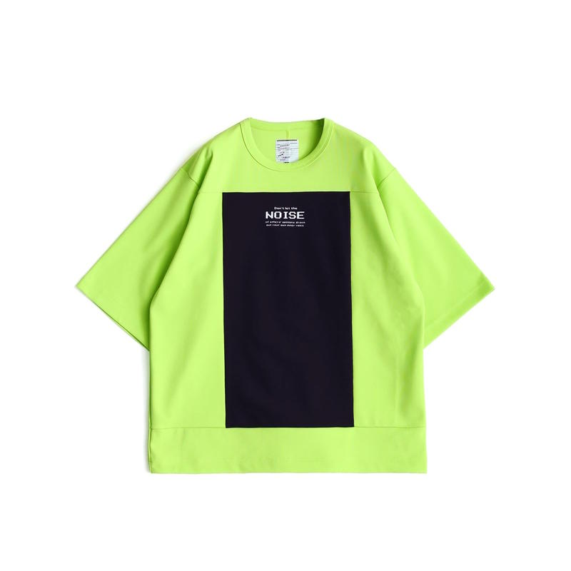 SHAREEF MILAN RIB SQUARE S/S(Lime Green)