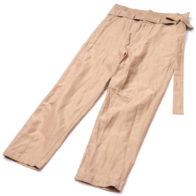 RICEMAN Belted Lounge Pants(BROWN)