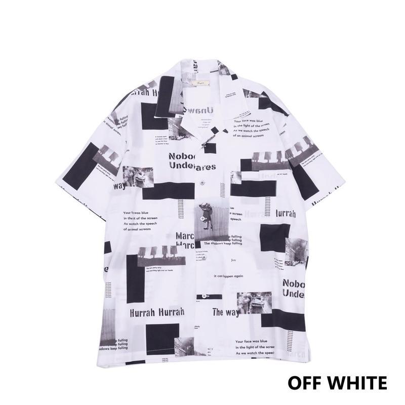 Iroquois E.C.WブロードS/Sシャツ(OFF WHITE)