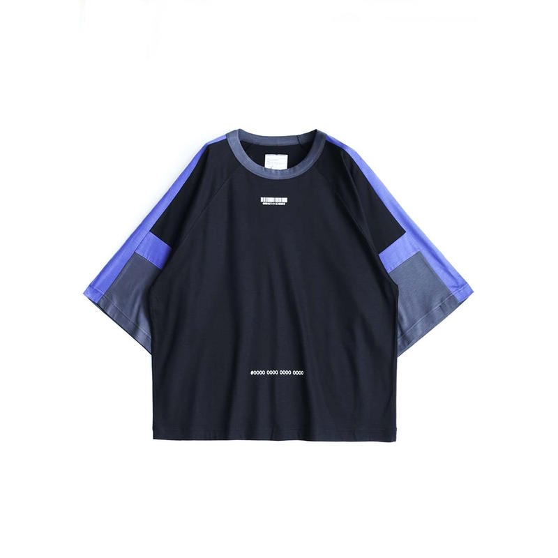 "SHAREEF ""BARCODE"" SWITCHING BIG-T(Black)"