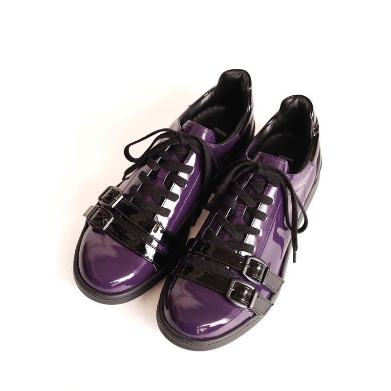 SHAREEF ENAMEL SNEEKER(Purple)