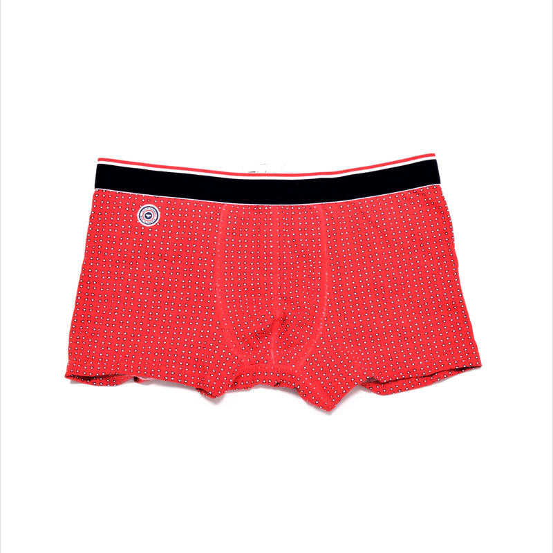 Le Slip Francais Lycra Boxer Briefs(Signal Red)