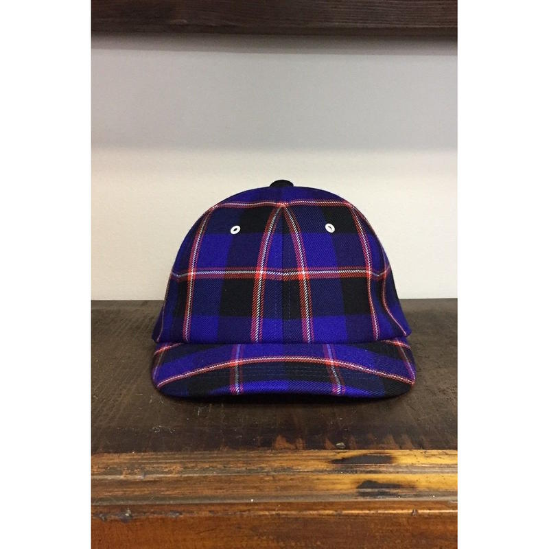 UNITUS Maasai Check Cap(Blue Check)