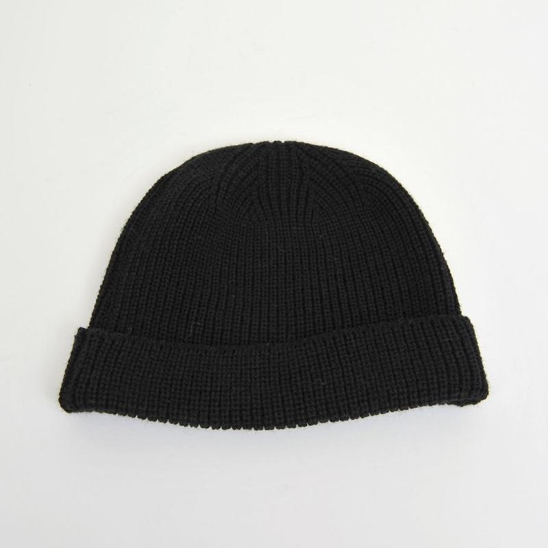 DISCOVERED KNIT CAP(BLACK)