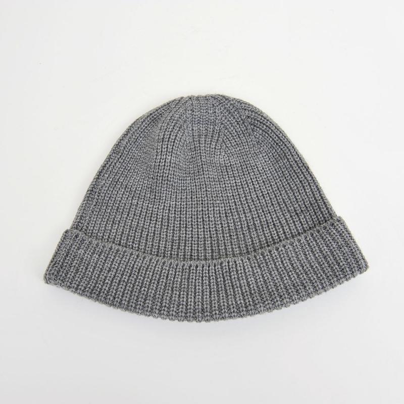 DISCOVERED KNIT CAP(GRAY)