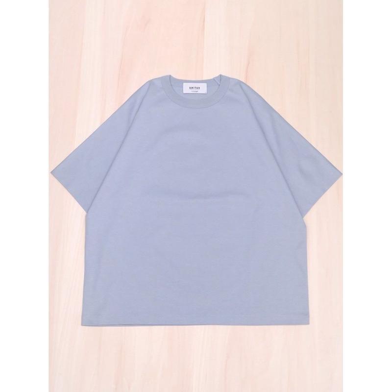 UNITUS Half Dolman T Shirt(Sax)