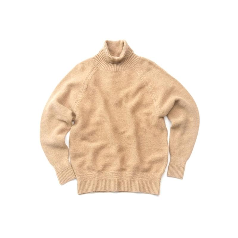 RICEMAN High Neck Knit(BEIGE)