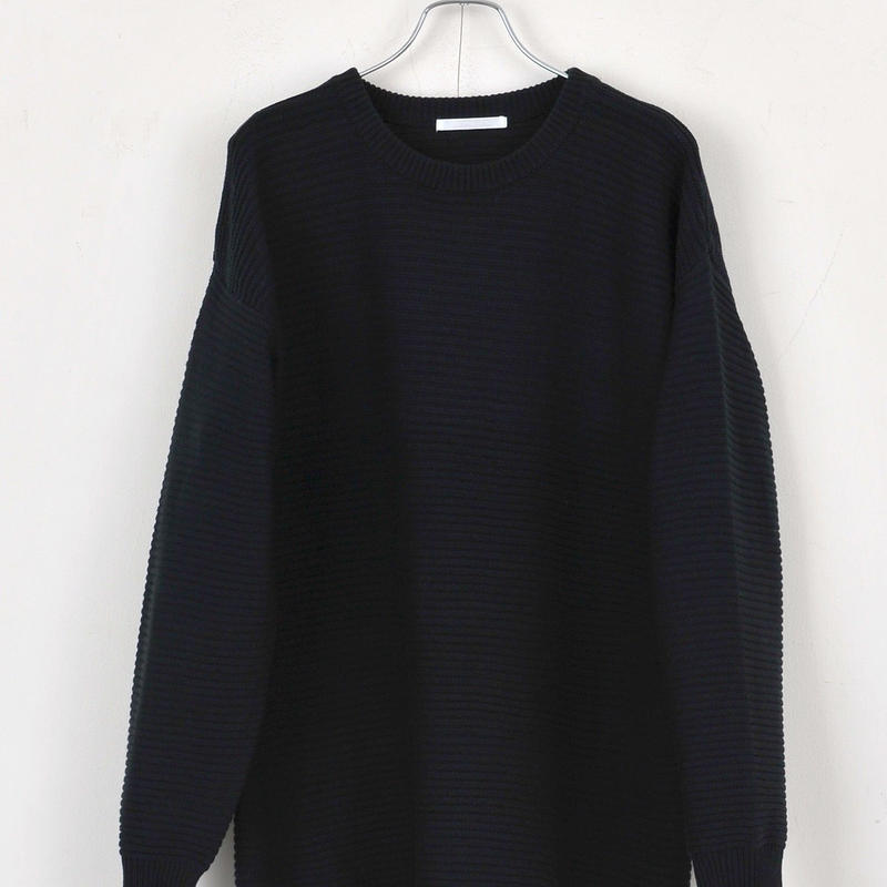 DISCOVERED CREWNECK KNIT(BLACK)