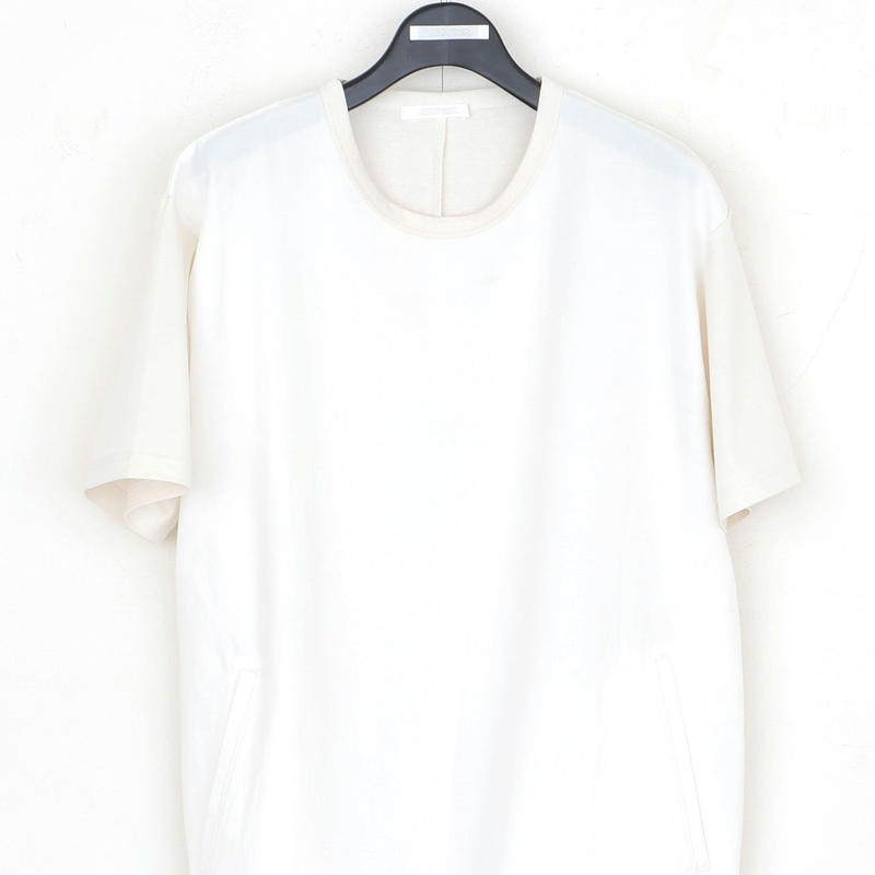 DISCOVERED BACK BENT TEE(WHITE)