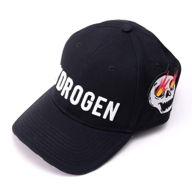 HYDROGEN HYDROGEN ART CAP(BLACK)