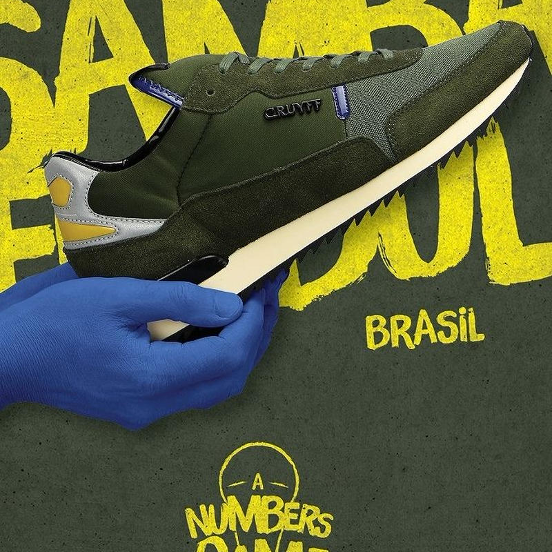 CRUYFF RIPPLE RUNNER LIMITED EDITION OF WORLD CUP【BRAZIL】(FOREST GREEN)