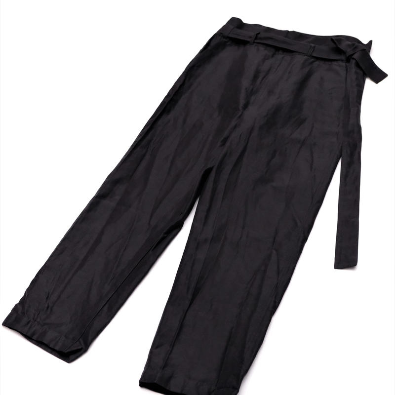 RICEMAN Belted Lounge Pants(BLACK)