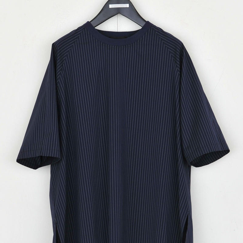 DISCOVERED STRIPE PULLOVER(NAVY)