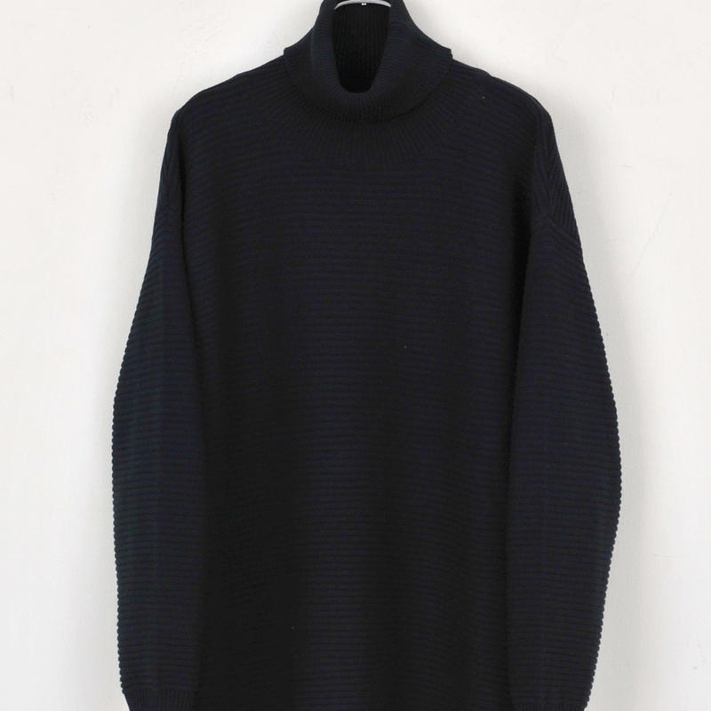 DISCOVERED TURTLENECK KNIT(BLACK)