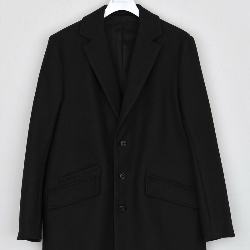 DISCOVERED LONG JACKET COAT(BLACK)