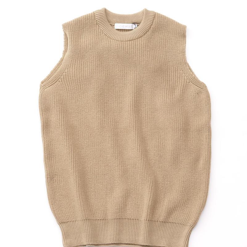 RICEMAN Knit Vest(BEIGE)